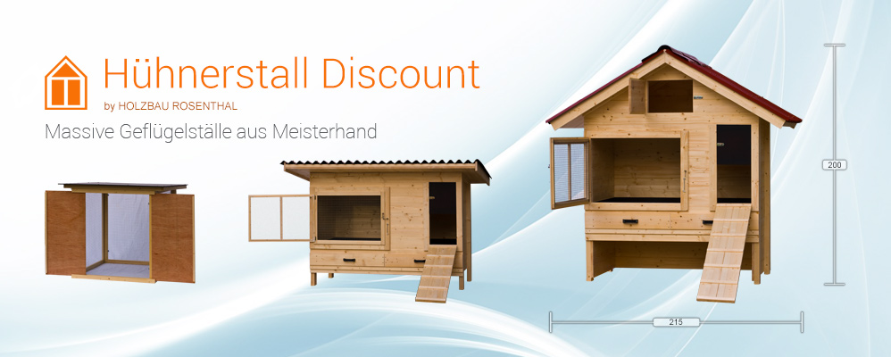 Hühnerstall Discount