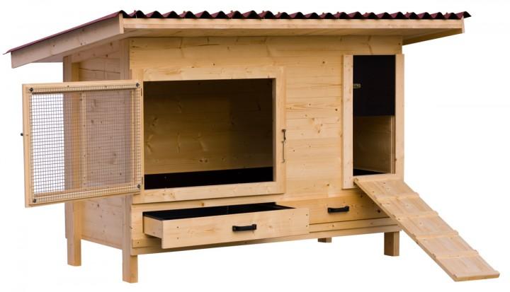 h hnerstall mit pultdach h hnerstall h hnerstall discount h hnerst lle direkt vom hersteller. Black Bedroom Furniture Sets. Home Design Ideas